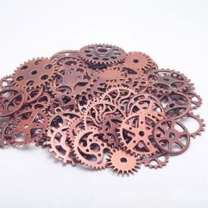 """Dekoratyviniai laikrodžių puošybos elementai """"Senovės elegancija"""" (vario spalvos)"""