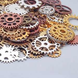 """Dekoratyviniai laikrodžių puošybos elementai """"Senovės elegancija"""" (įvairių spalvų)"""