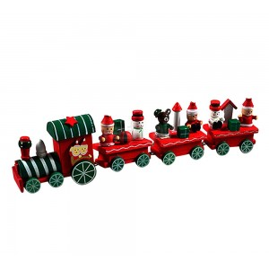 """Medinis traukinys """"Kalėdukas"""""""