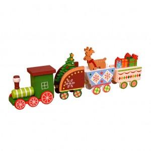 """Medinis traukinys """"Kalėdukas 4"""""""