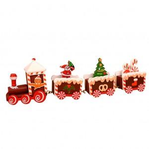 """Medinis traukinys """"Kalėdukas 5"""""""