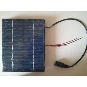 """Saulės modulis """"Saulės energija"""" (6 V 2W 330 mA)"""