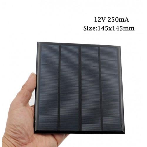 "Saulės modulis ""Solar Power Pro"" (12V 250 mA)"