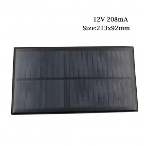 "Saulės modulis ""Solar Power Pro"" (12V 208 mA)"