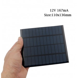 "Saulės modulis ""Solar Power Pro"" (12V 167 mA)"