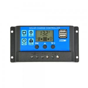 """Saulės baterijos valdiklis - įkroviklis """"Solar Power Deluxe"""" (20A)"""