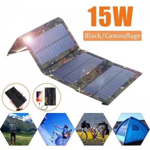 "Kelioninis saulės modulis ""Solar Power Deluxe 7"" (15W)"