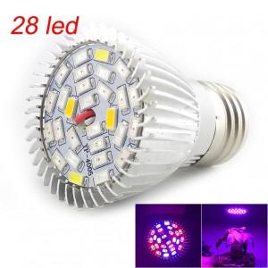 """28 LED lemputė augalams """"Puikioji šviesa"""""""