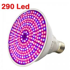 """290 LED lemputė augalams """"Puikioji šviesa 10"""""""
