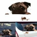"""Lipdukas """"Juokingas šuo"""" (20 x 30 cm)"""
