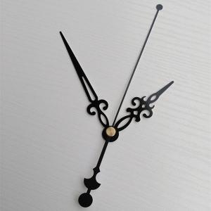 """Sieninio laikrodžio rodyklės """"Juodoji alebarda ir raktelis"""" (50 vnt.)"""
