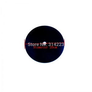 """Sieninio laikrodžio diskas """"Juodasis diskas"""" (20 cm)"""