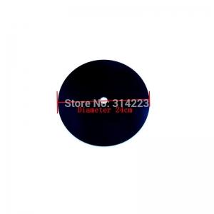 """Sieninio laikrodžio diskas """"Juodasis diskas"""" (24 cm)"""