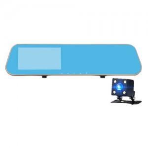 """Automobilinis veidrodis su stebėjimo kamera """"Stiliaus elegancija 2"""" (1080p)"""