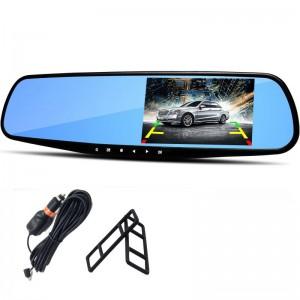 """Automobilinis veidrodis su stebėjimo kamera """"Stiliaus elegancija 5"""" (1080p)"""