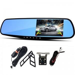 """Automobilinis veidrodis su stebėjimo kamera """"Stiliaus elegancija 6"""" (1080p)"""