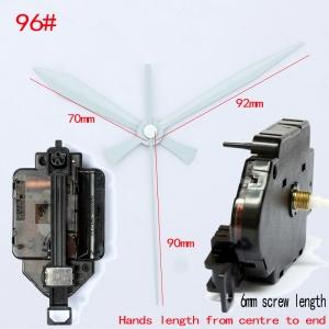 """Sieninio laikrodžio mechanizmas """"Du balti kardai 2"""" (6mm ašis)"""