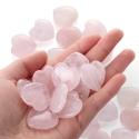 """Dekoratyviniai puošybos elementai """"Rožinės širdelės"""" (2.5 cm, 10 vnt)"""