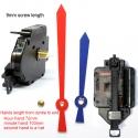 Sieninio laikrodžio mechanizmas Raudonas ir mėlynas kardas (9mm ašis)