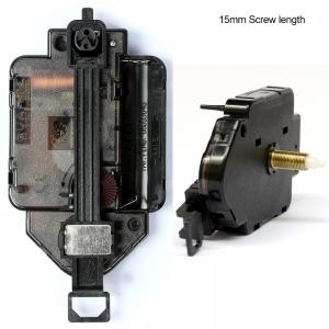 """Sieninio laikrodžio mechanizmas """"Klasika"""" (15mm ašis)"""