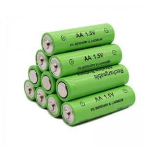 20 įkraunamų baterijų 3000 mAh AA 1.5V