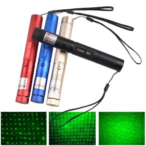 """Lazerinė rodyklė """"Cool Light 3"""" (5 mw 532 nm)"""