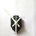 """Sieninio laikrodžio mechanizmas """"Baltoji klasika"""" (22mm ašis)"""