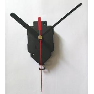 """Sieninio laikrodžio mechanizmas """"Juodai neaštru su raudona rodykle"""" (22mm ašis)"""