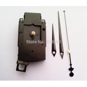 """Sieninio laikrodžio mechanizmas """"Gegutė su kardais ir alebarda 2"""" (18mm ašis)"""