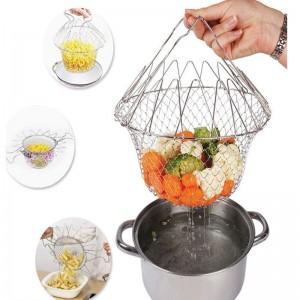 """Plieninis virtuvės sietas """"Soul Kitchen Basket"""""""