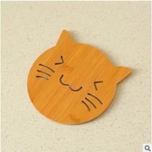 "Medinis padėkliukas ""Soul Kitchen Cat"" (2 vnt.)"