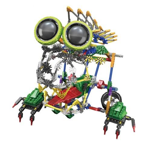 """Elektroninis robotas - surenkamas vaikiškas konstruktorius """"Robotų pasaulis"""""""
