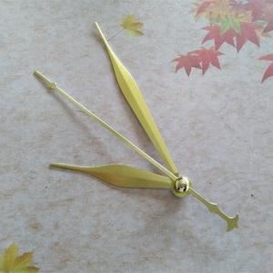 Sieninio laikrodžio rodyklės Auksiniai kardai su alebarda 2 (50 vnt.)