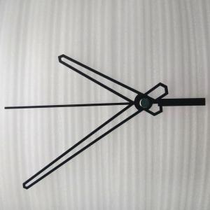 """Sieninio laikrodžio rodyklės """"Tušti kardai"""" (50 vnt.)"""