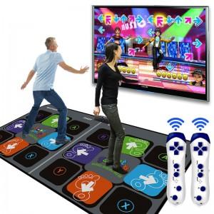 """Šokių kilimėlis dviems """"Pro Dancing Deluxe Dual"""" (Wireless)"""