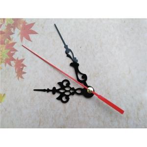 """Sieninio laikrodžio rodyklės """"Juodais raktelis su raudona rodykle 2"""" (50 vnt.)"""