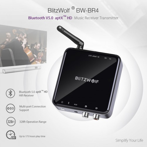 "Bluetooth 5 siųstuvas imtuvas ""Best Sound Ultra Pro 6"""