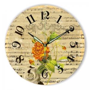 """Sieninis laikrodis """"Muzika mano meilė 2"""""""
