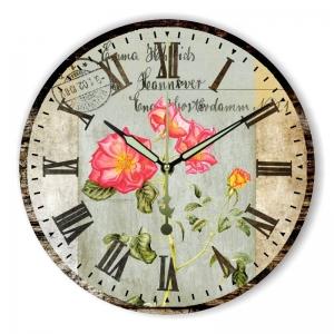 """Sieninis laikrodis """"Meilės rožės niekada nevysta 2"""""""