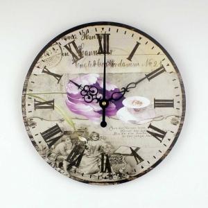 """Sieninis laikrodis """"Senovės romantika"""""""
