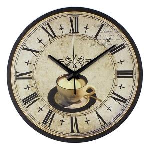"""Sieninis laikrodis """"Prisėsk drauge puodeliui kavos"""""""