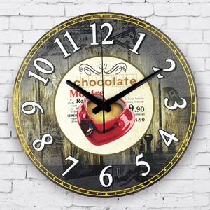 """Sieninis laikrodis """"Myliu, noriu šokolado 2"""""""