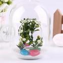 """Stiklinė vaza """"Puikioji elegancija"""" (13,5 x 12 cm)"""