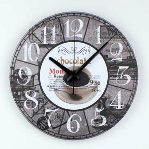 """Sieninis laikrodis """"Myliu, noriu šokolado 5"""""""