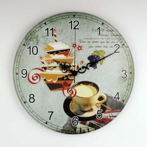"""Sieninis laikrodis """"Myliu, noriu skanėstų ir į UK"""""""