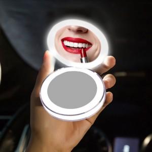 """USB įkraunamas LED makiažo veidrodis """"Premium Makeup Pro 2"""""""