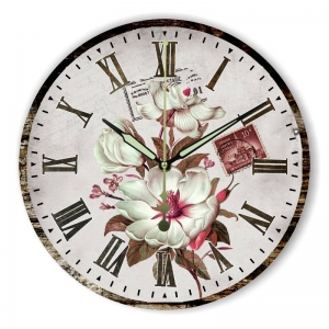 """Sieninis laikrodis """"Gėlių romantika 9"""""""