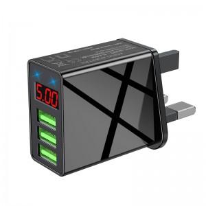 "Universalus USB pakrovėjas ""ProCharger Deluxe 5"" (5V 3.0A, 220V, UK)"