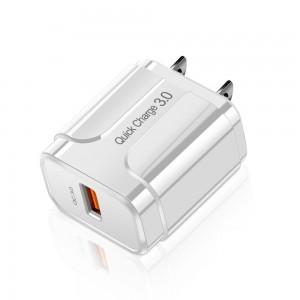 """Greito pakrovimo USB pakrovėjas """"ProCharger Deluxe 10"""" (5V 3.0A, 220V, JAV)"""