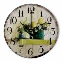 """Sieninis laikrodis """"Nuostabus žalumynų pasaulis"""""""